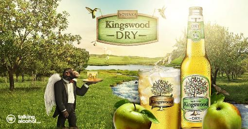Apple Cider DRY ( Kingswood ) 330ml