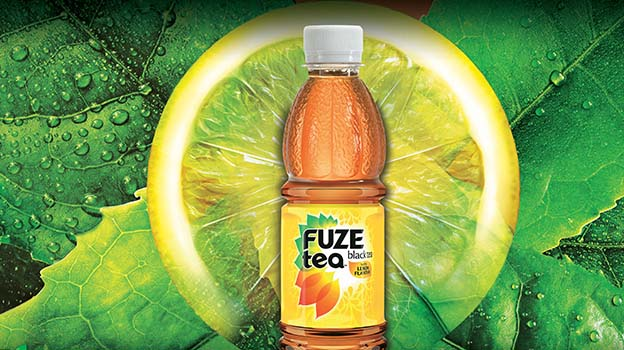 Green ice tea Jahoda
