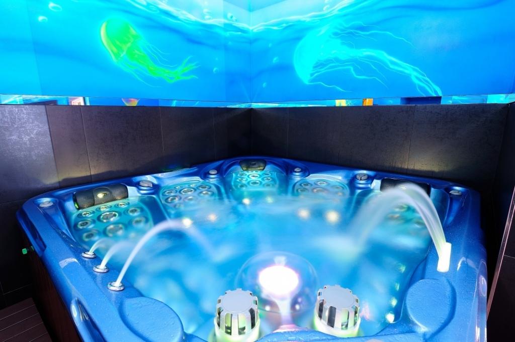 wellness-dablice vodní svět medúzy